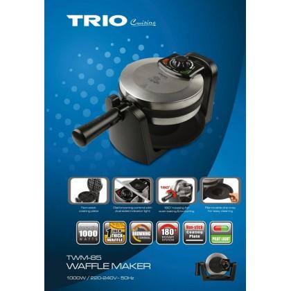 Trio Waffle Maker TWM85 Rotating TWM-85